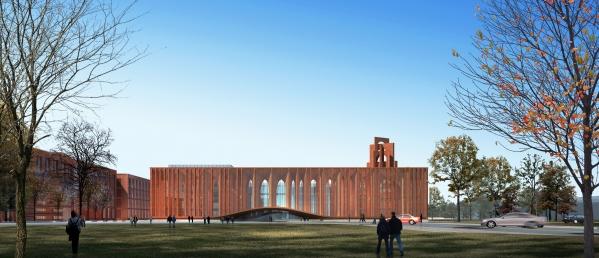 """存济医学院基础医学大楼即将破土动工 吹响2021国科大""""美丽校园""""建设的集结号"""